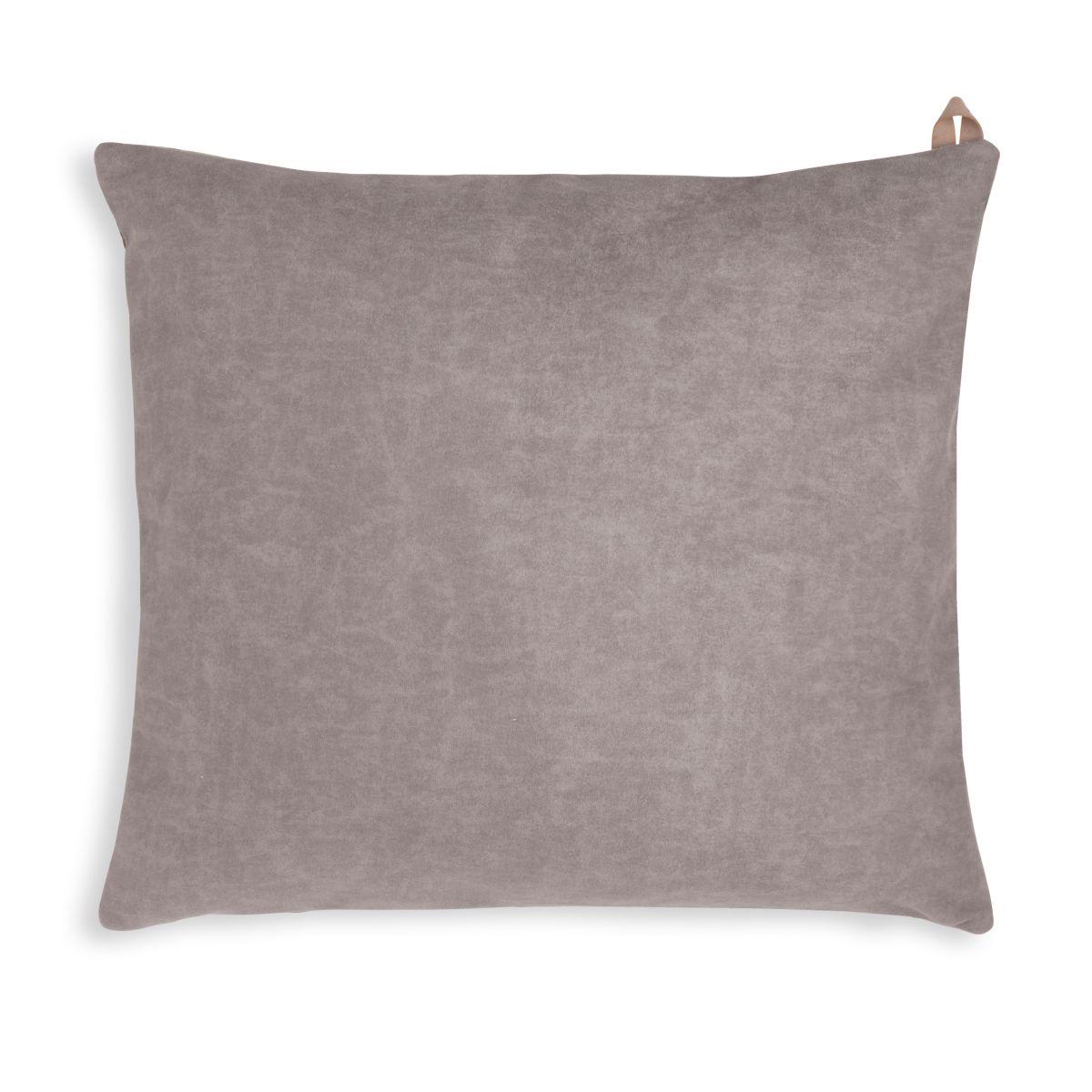 beau cushion taupe 50x50