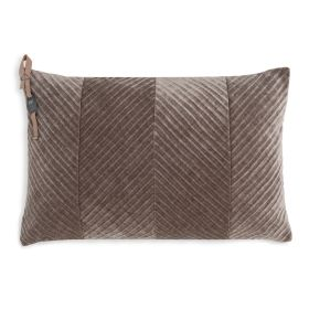 Beau Cushion Taupe - 60x40
