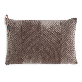 Beau Cushion Taupe - 60x40