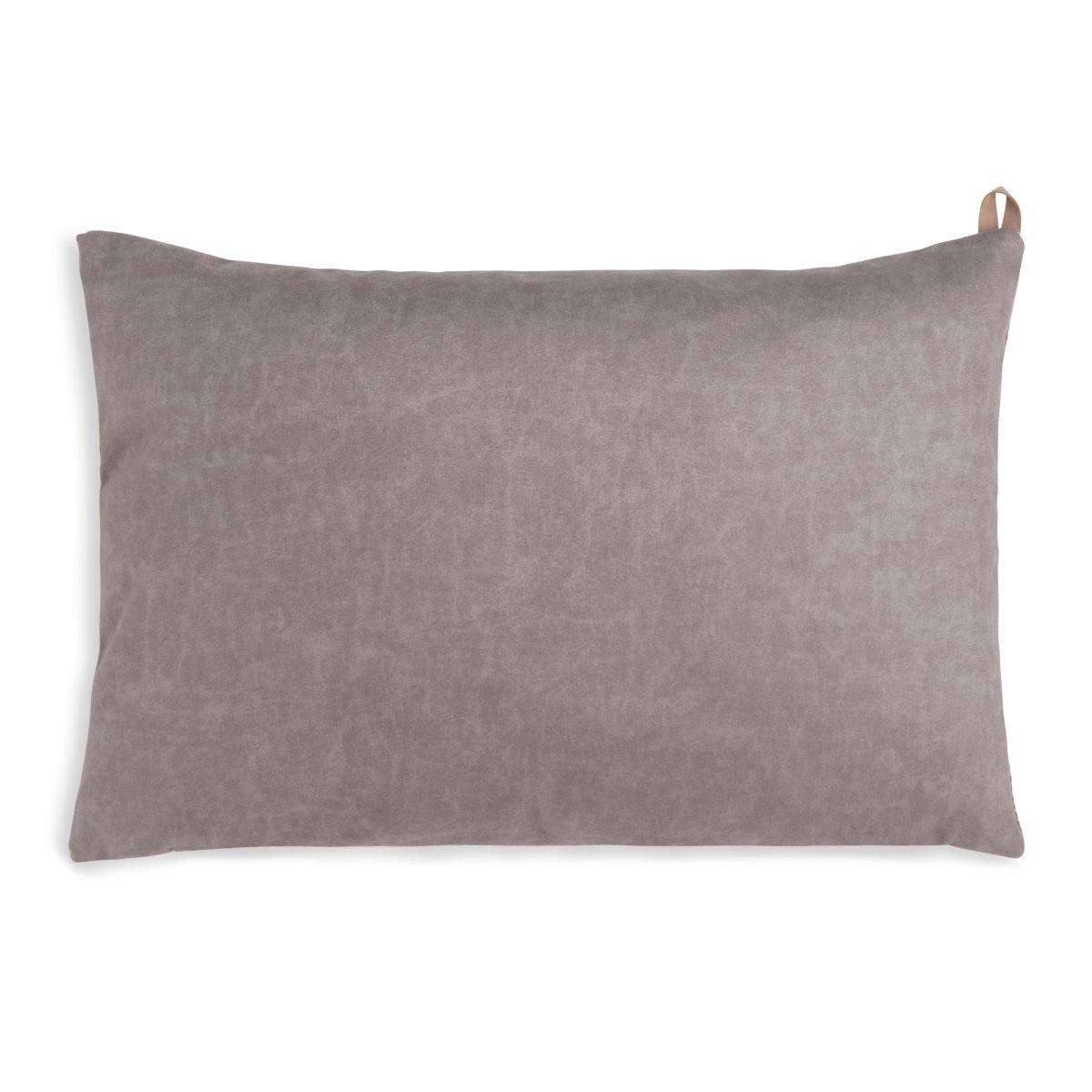 knit factory kf149013029 beau kussen taupe 60x40 2