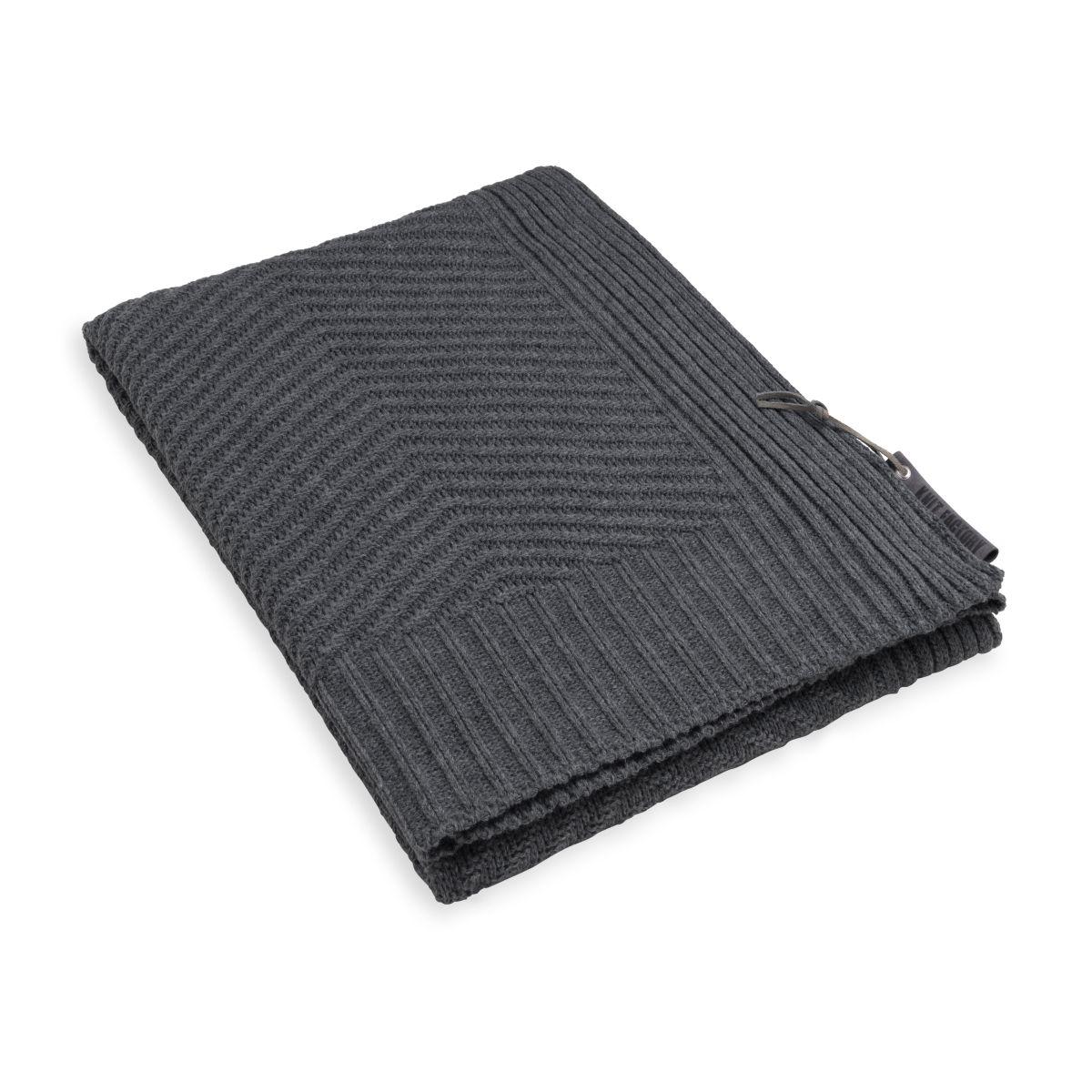 knit factory kf149011010 beau plaid antraciet 1