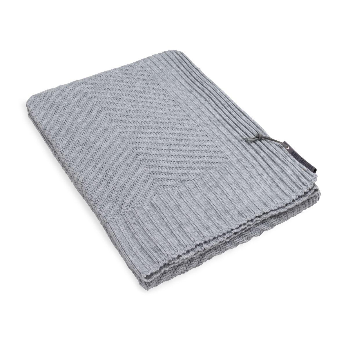 knit factory kf149011011 beau plaid licht grijs 1