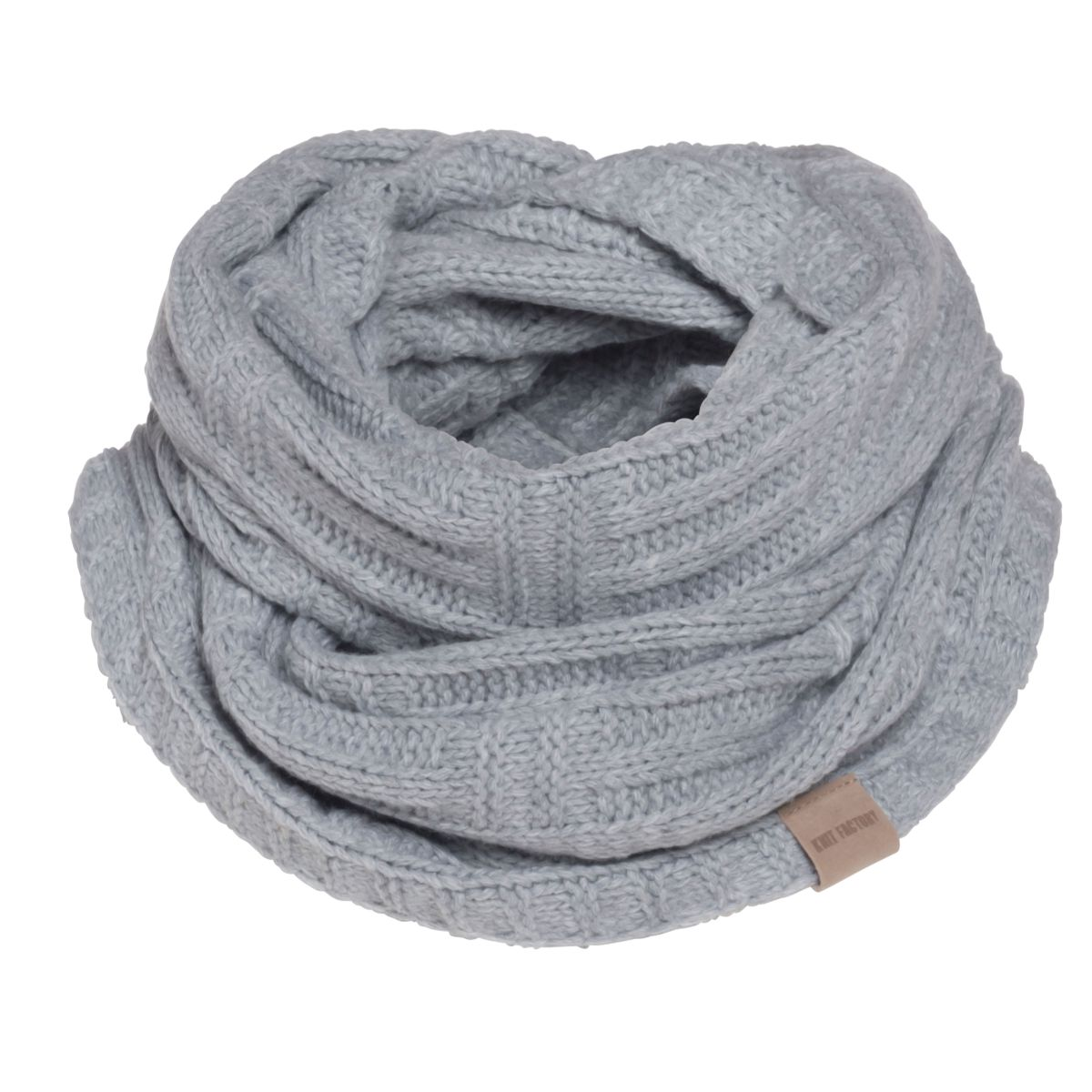 bobby infinity scarf light grey