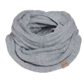 Bobby Infinity Scarf Light Grey