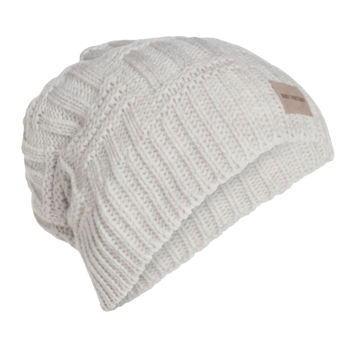 knit factory kf14407001250 bobby muts beige 1