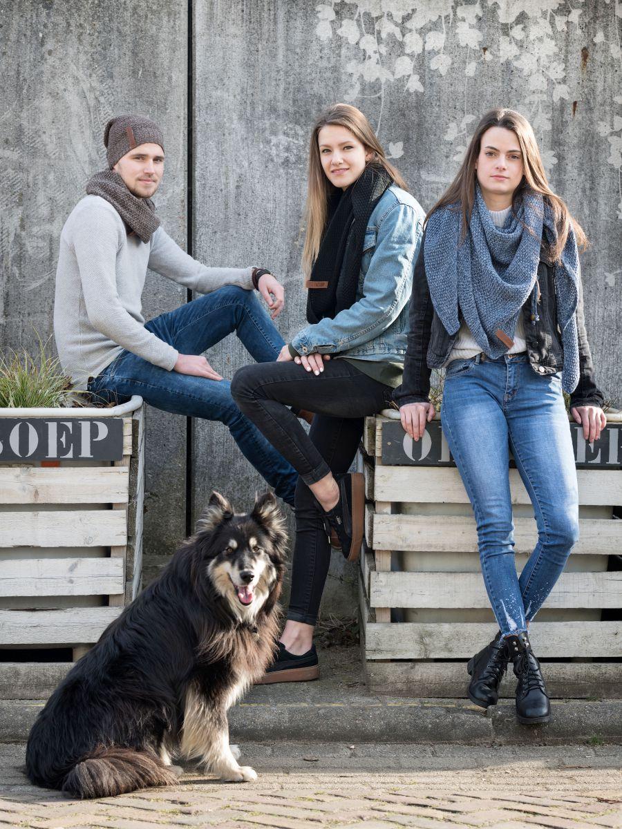 brosche jeansindigo
