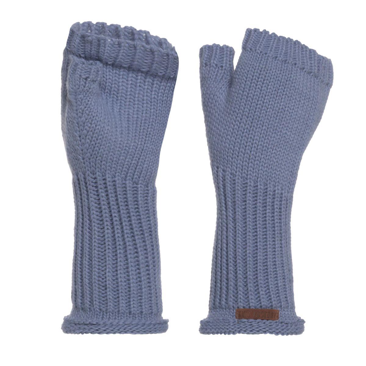 cleo gloves indigo