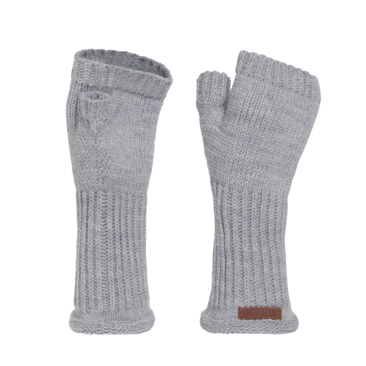 cleo gloves light grey
