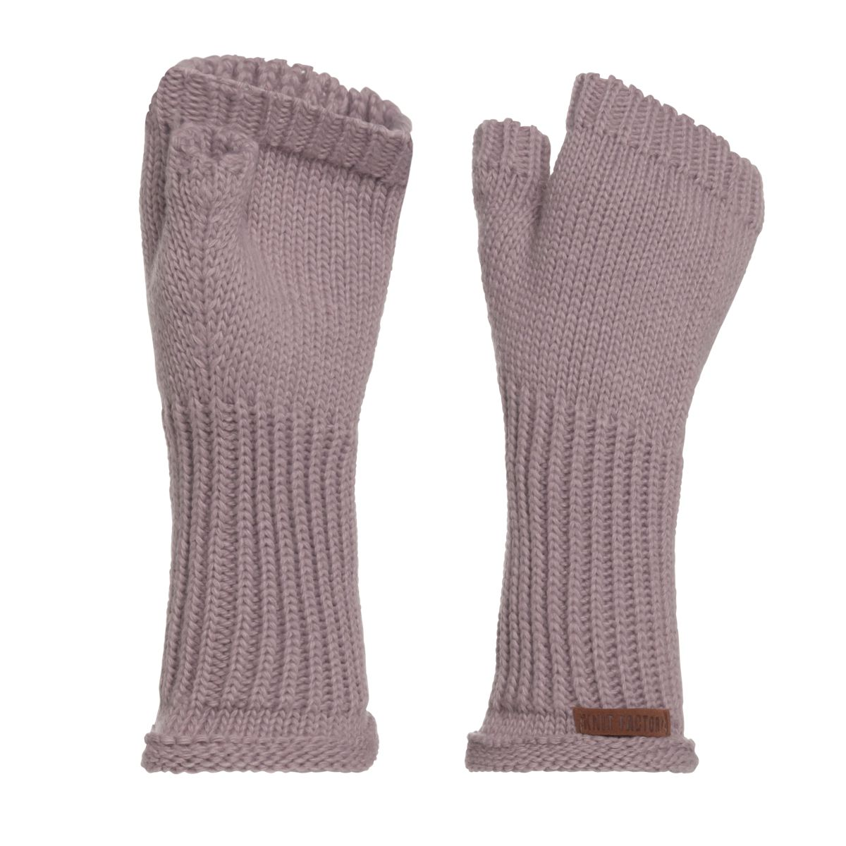 cleo gloves mauve