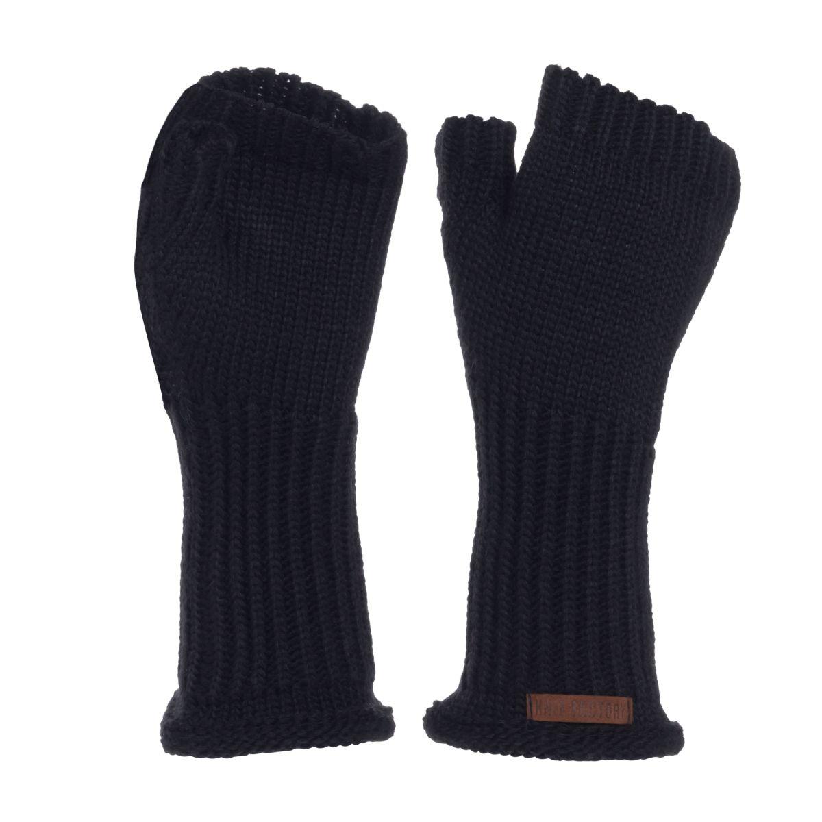 knit factory kf14607502650 cleo handschoenen navy 1