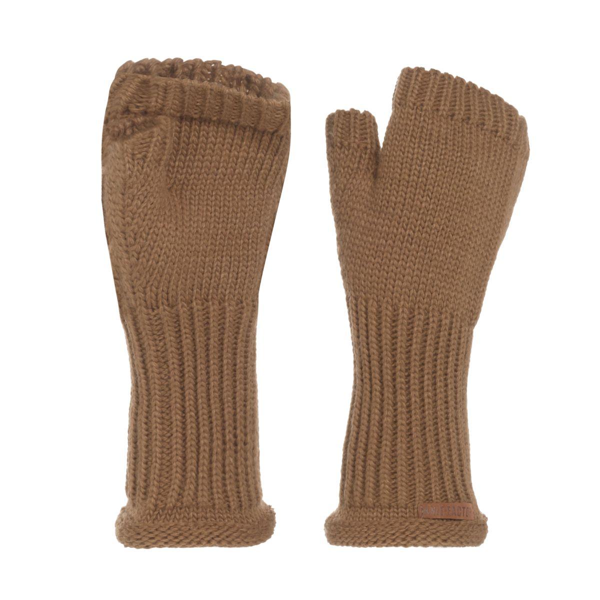 knit factory kf14607502050 cleo handschoenen new camel 1