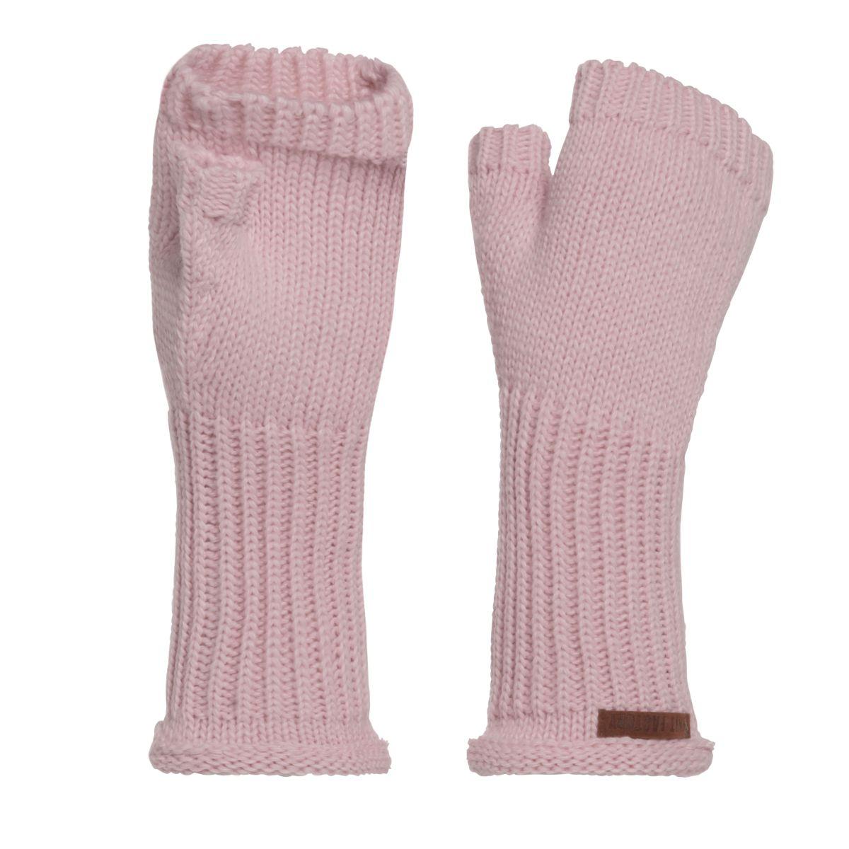 knit factory kf14607502150 cleo handschoenen roze 1