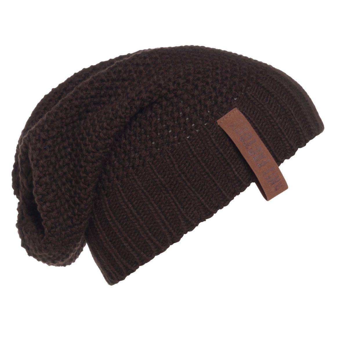 coco beanie dark brown