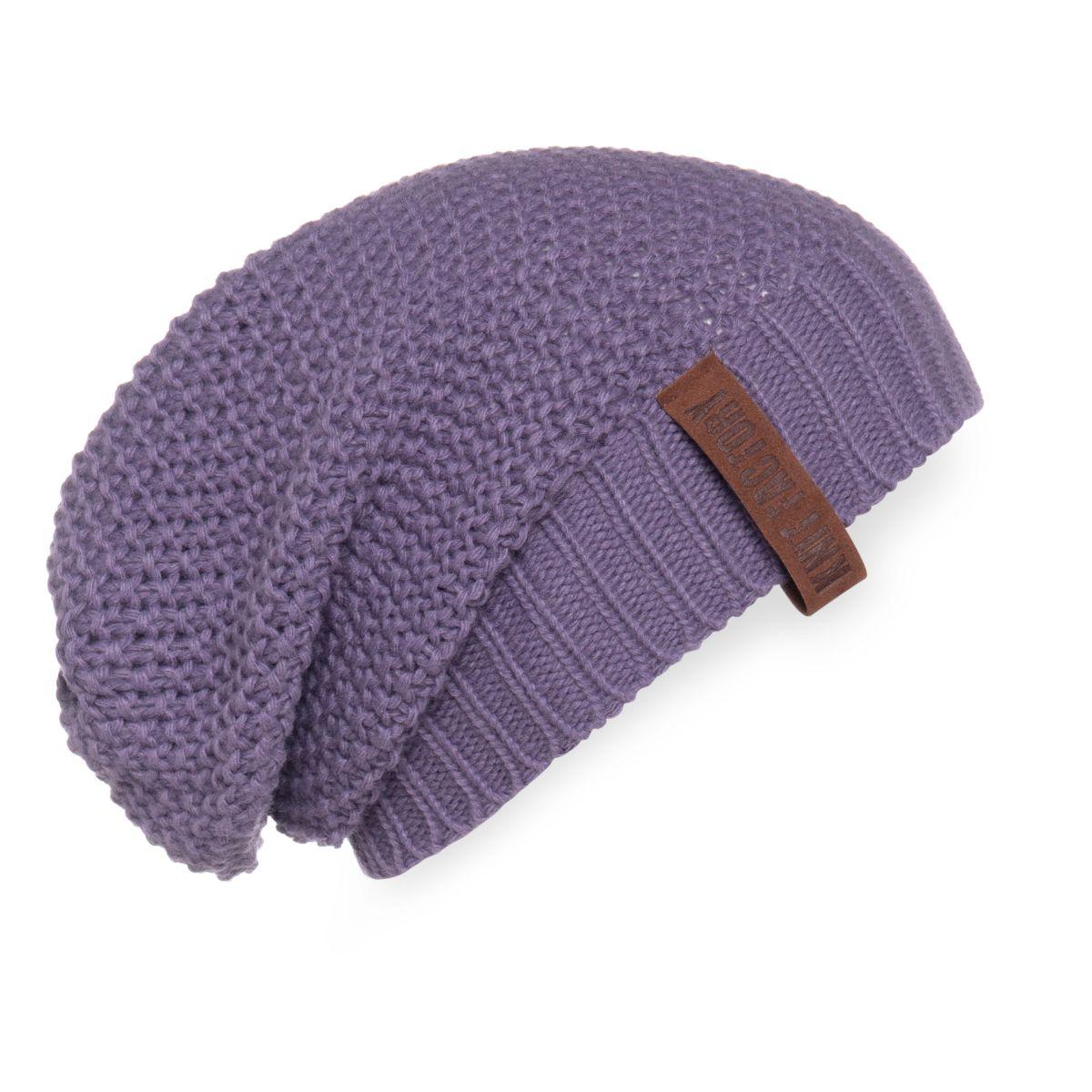 coco beanie violet