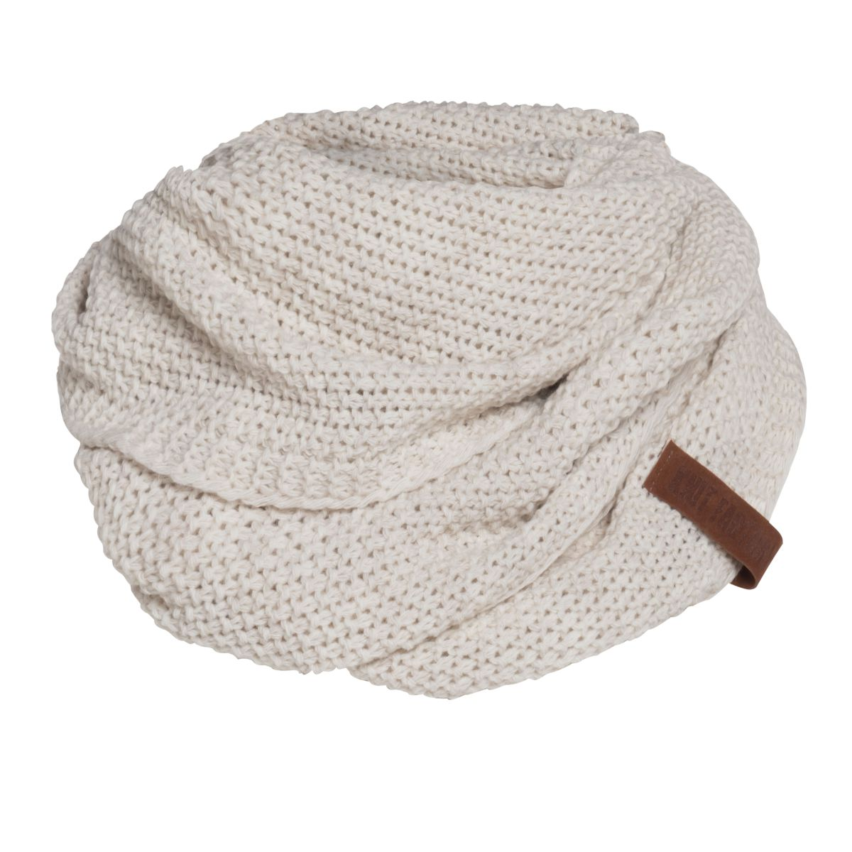 knit factory 1206612 coco colsjaal beige 1