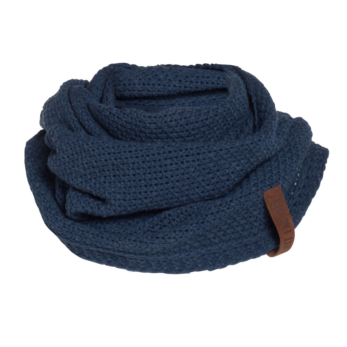 knit factory 1206613 coco colsjaal jeans 1