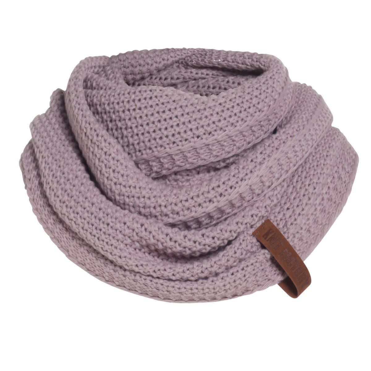 knit factory 1206634 coco colsjaal mauve 1