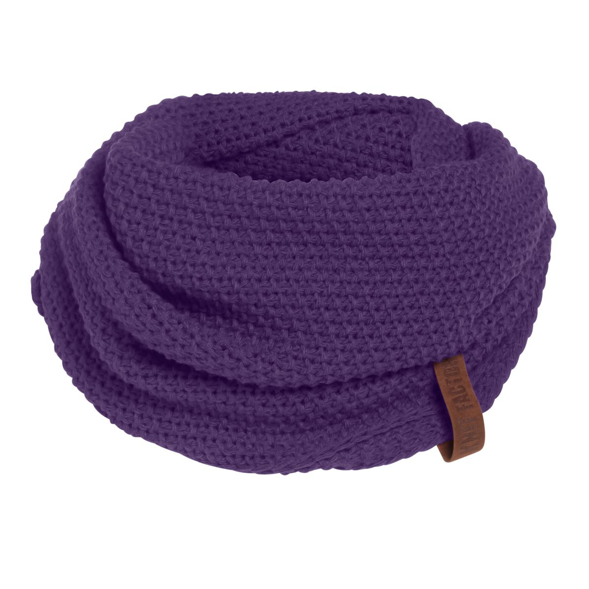 knit factory kf12006612350 coco colsjaal violet 1