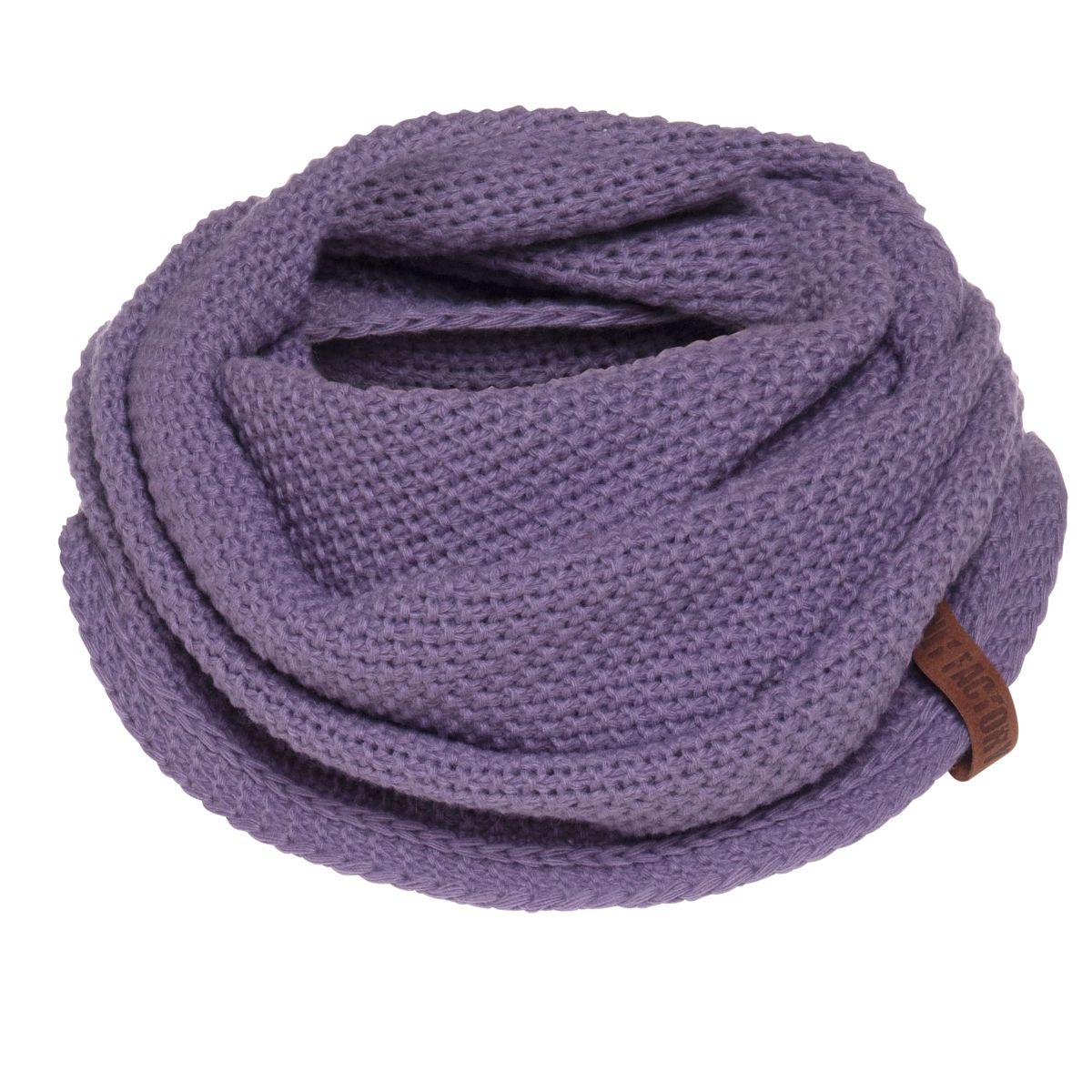 knit factory kf120066043 coco omslagdoek violet 1