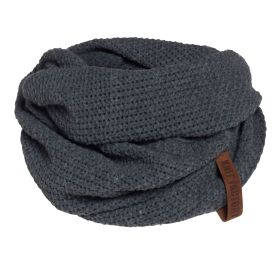 Coco Infinity Scarf Anthracite
