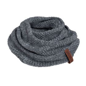 Coco Infinity Scarf Anthracite/Grey