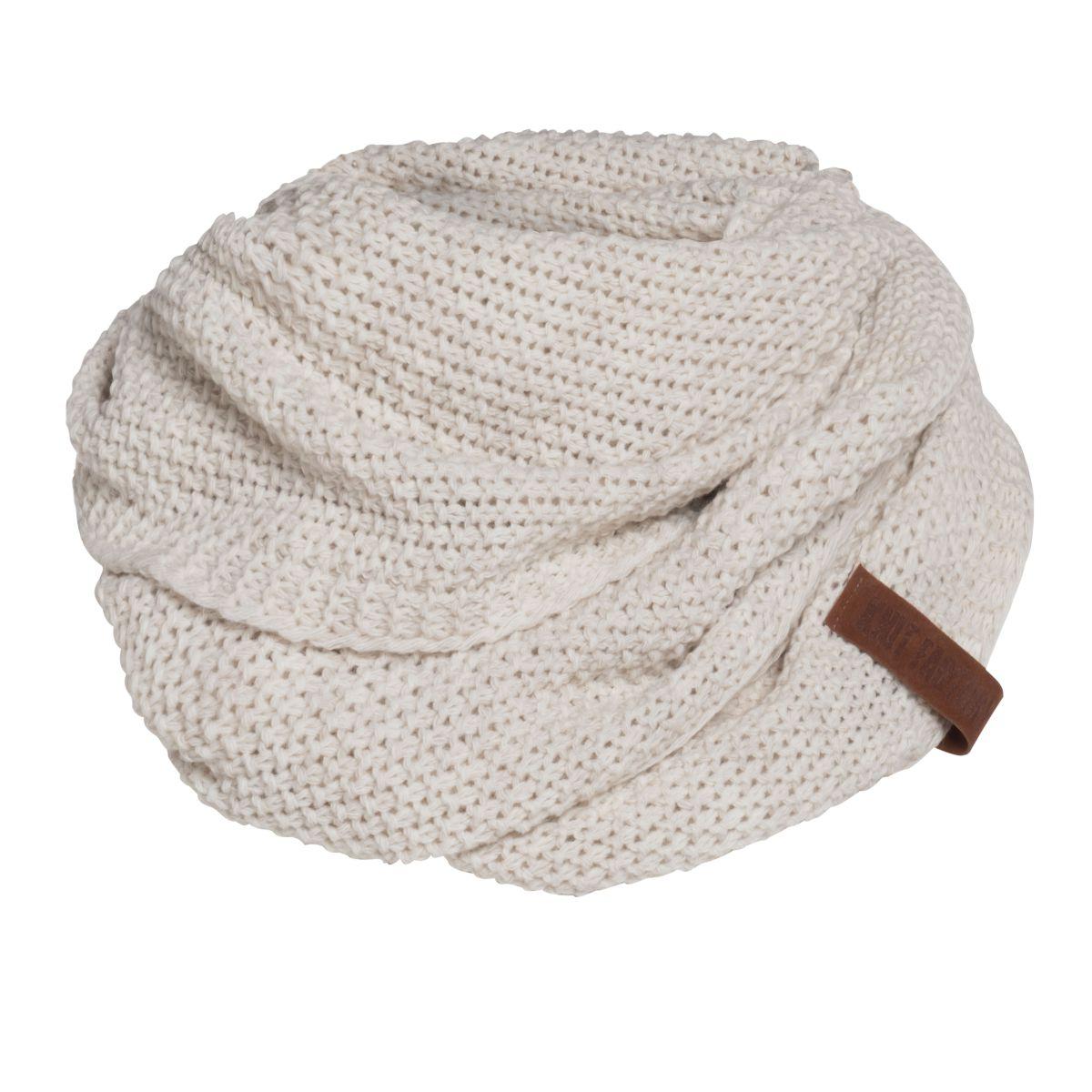 coco infinity scarf beige