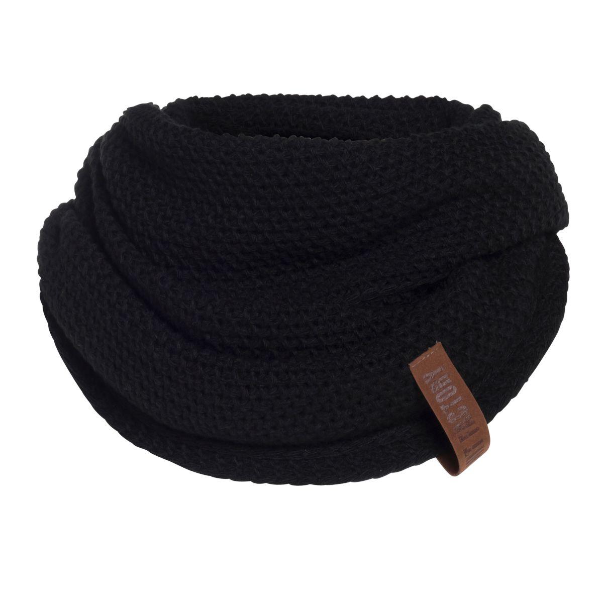 coco infinity scarf black