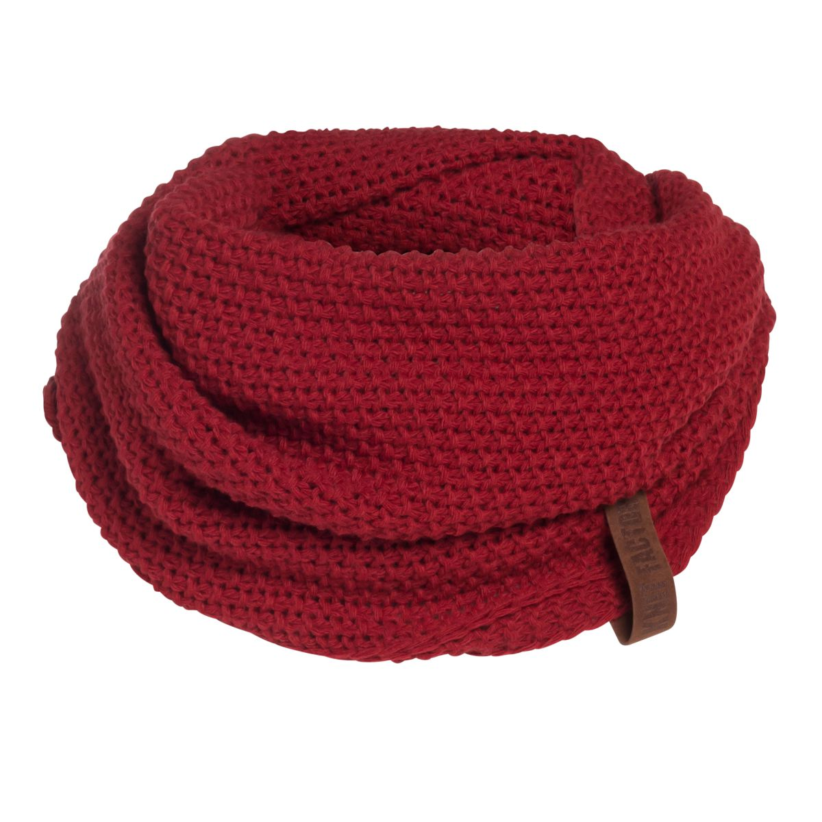 coco infinity scarf bordeaux