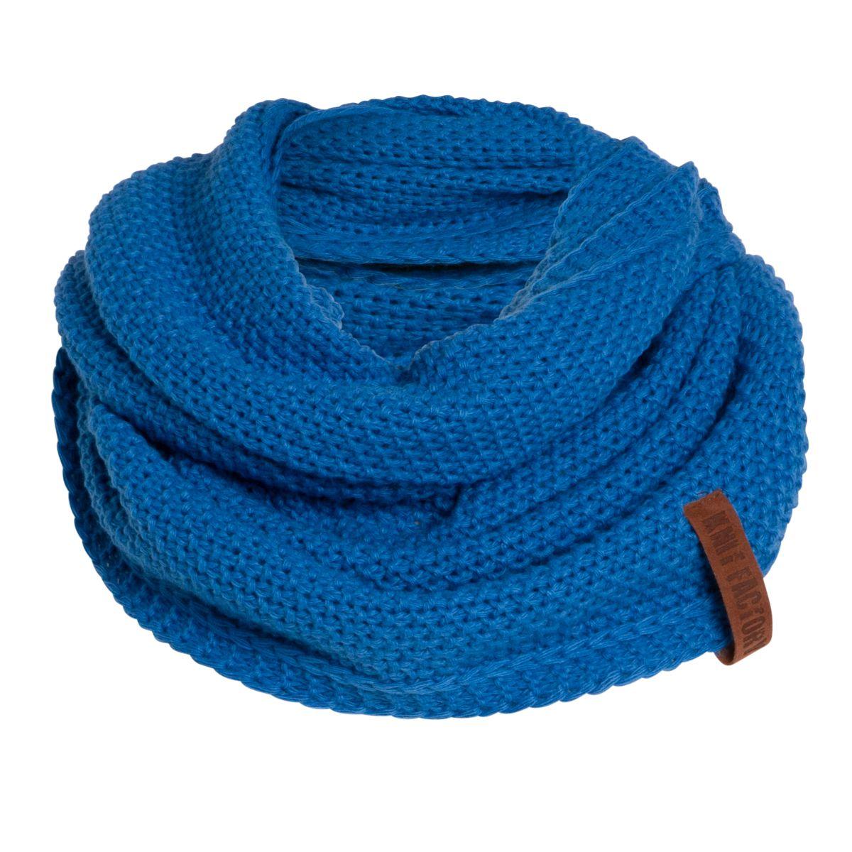 coco infinity scarf cobalt