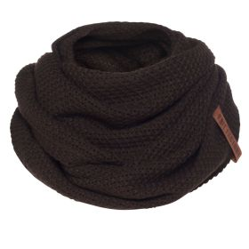 Coco Infinity Scarf Dark Brown