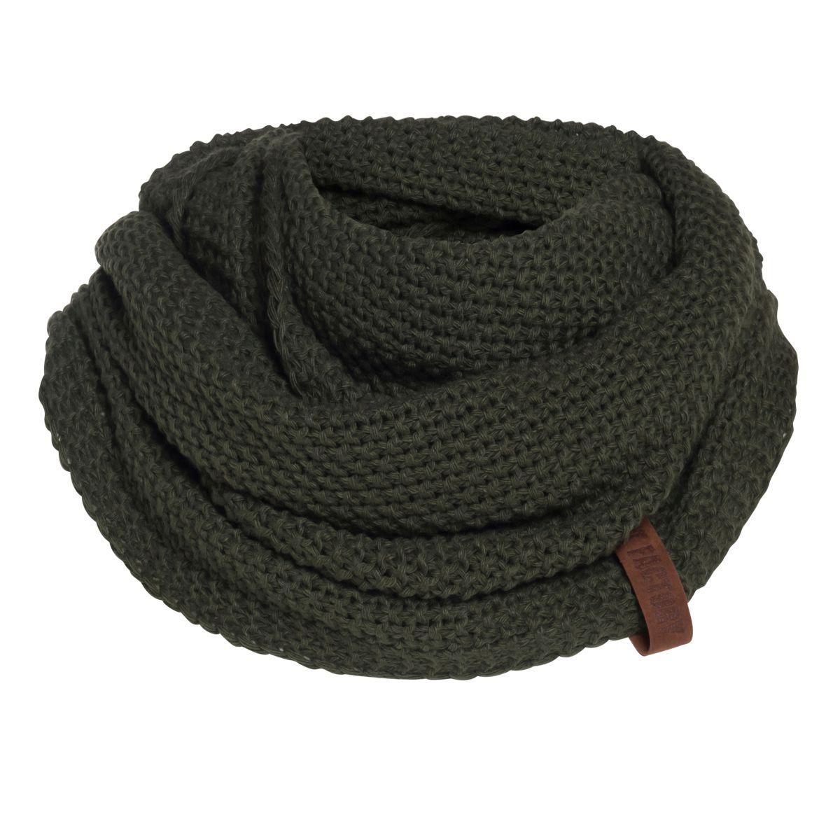 coco infinity scarf khaki