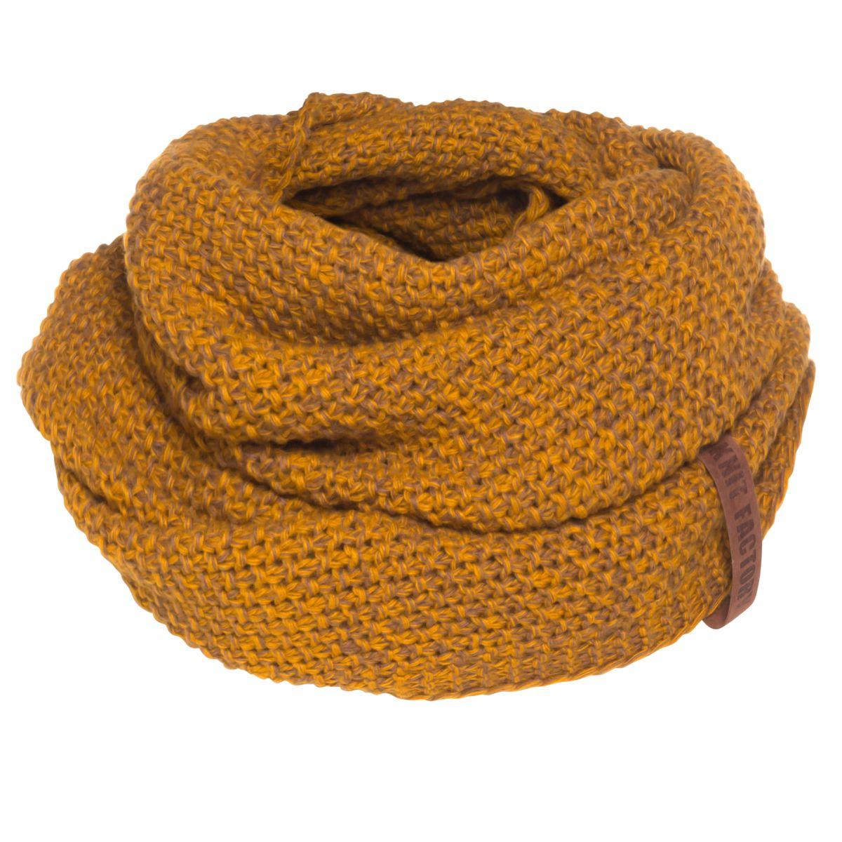 coco infinity scarf ochretobacco