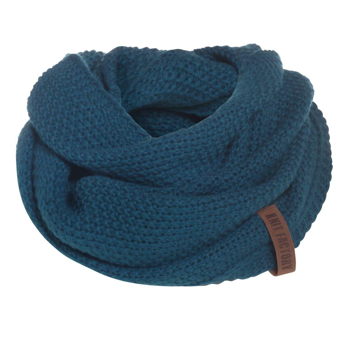 coco infinity scarf petrol