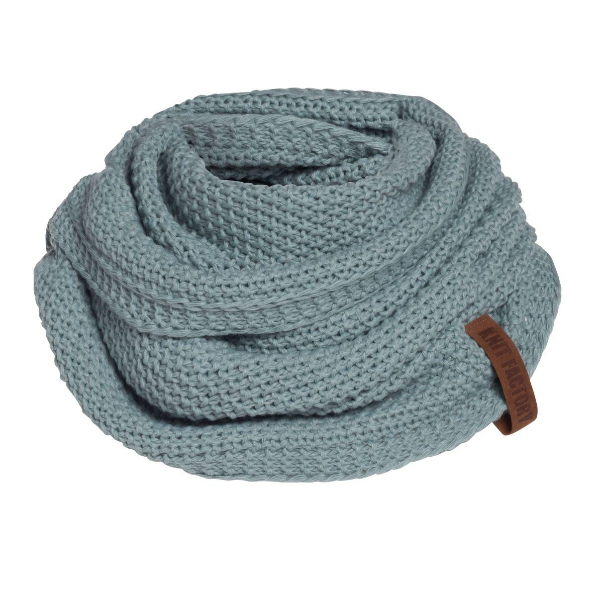 coco infinity scarf stone green