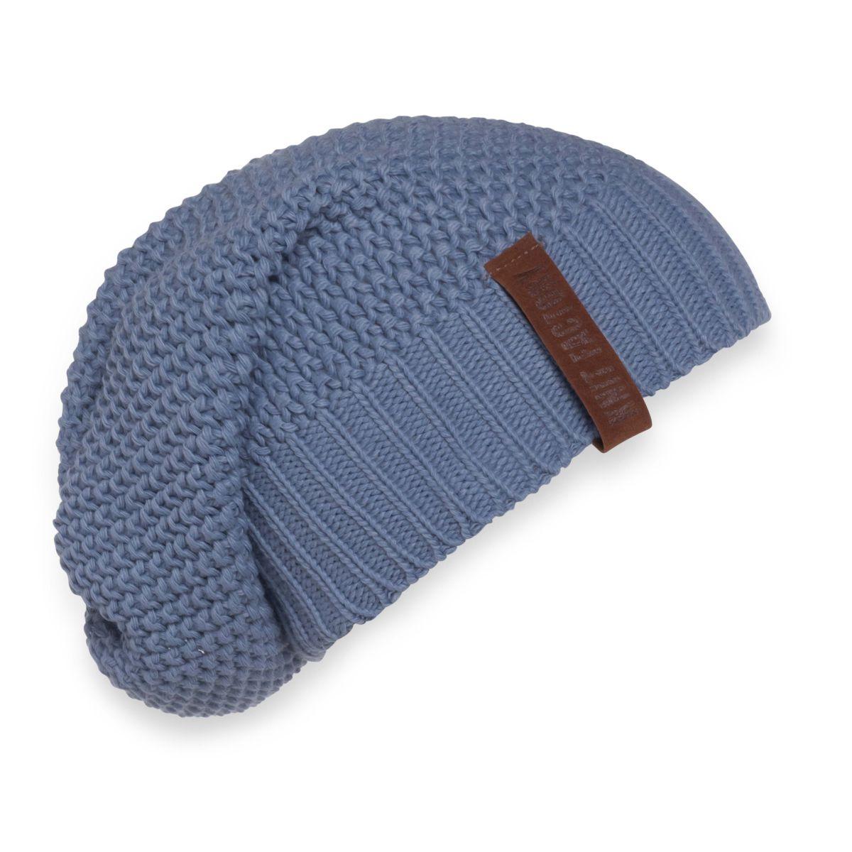 knit factory 1207032 coco beanie indigo 1