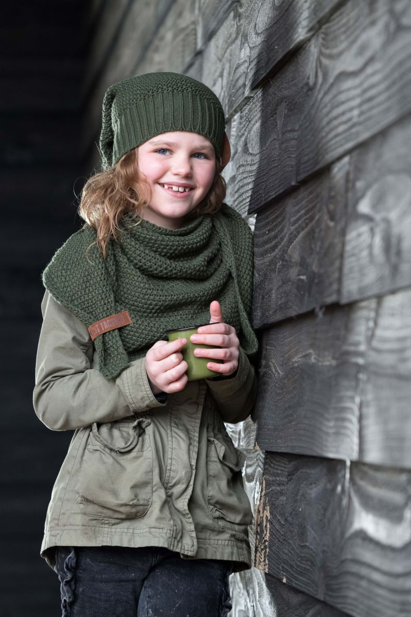 knit factory 1207025 coco beanie khaki 3