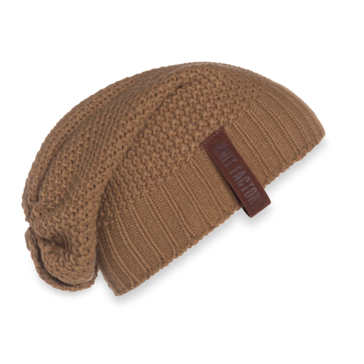 knit factory 1207020 coco beanie new camel 1