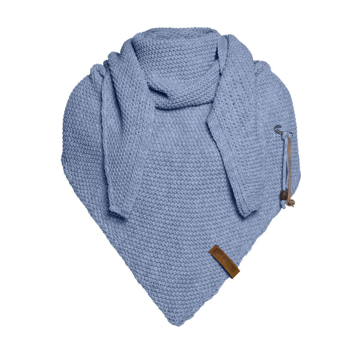 knit factory 1206032 coco omslagdoek indigo 1