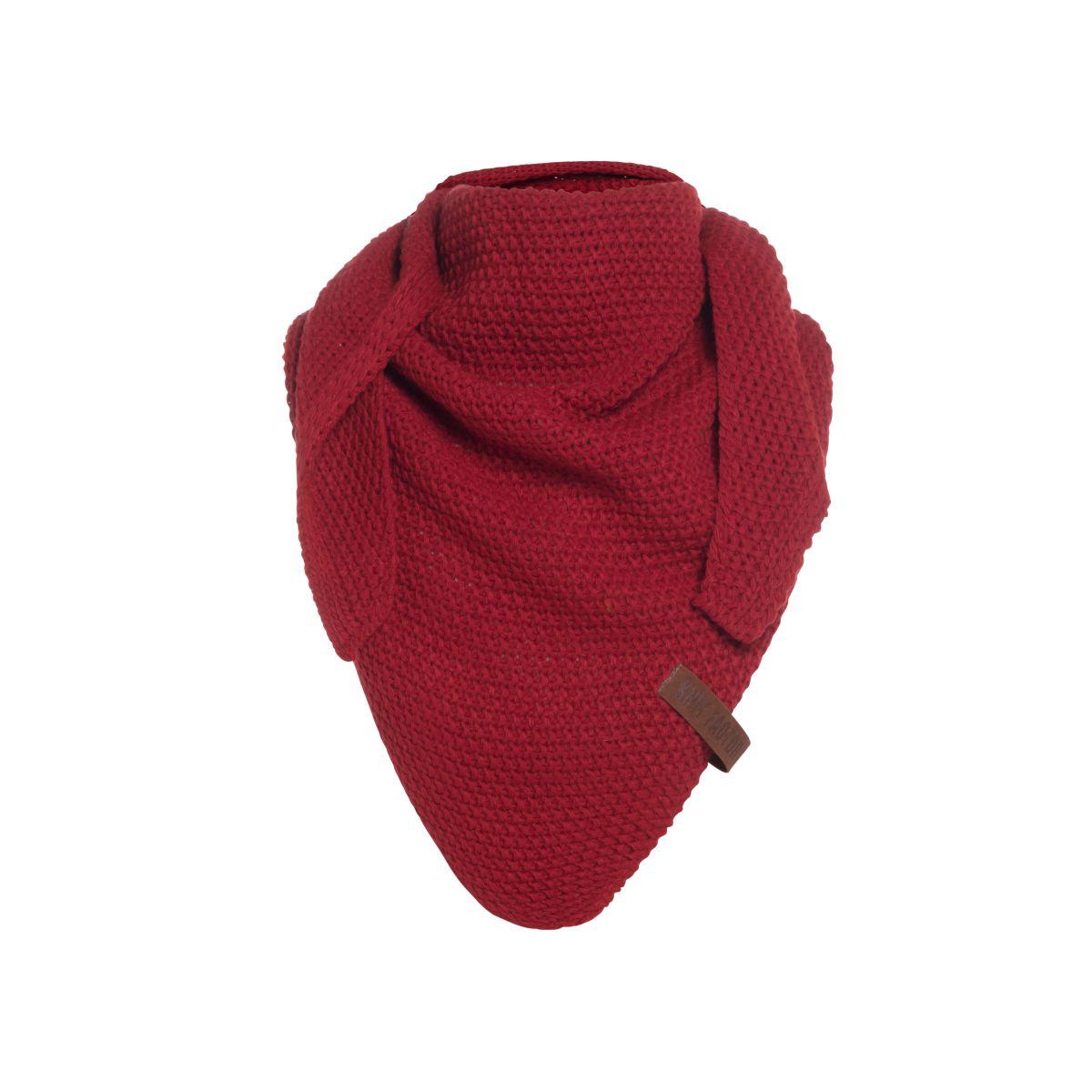 knit factory 1205903 coco omslagdoek junior bordeaux 1