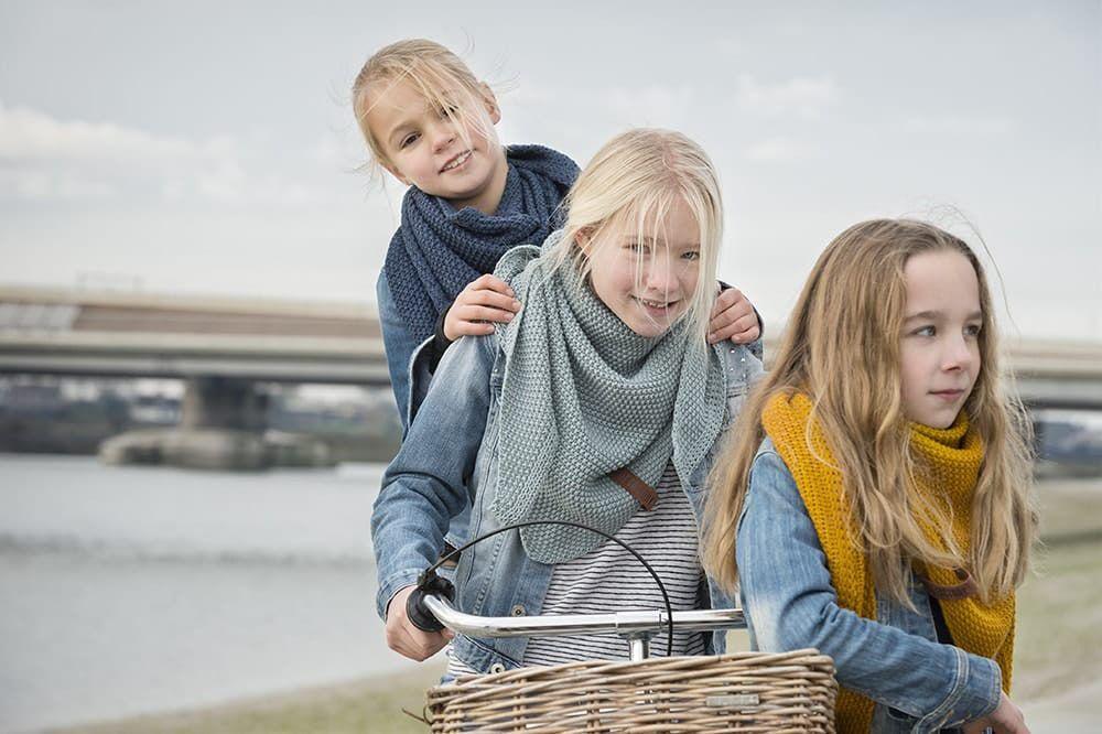 knit factory 1205913 coco omslagdoek junior jeans 10