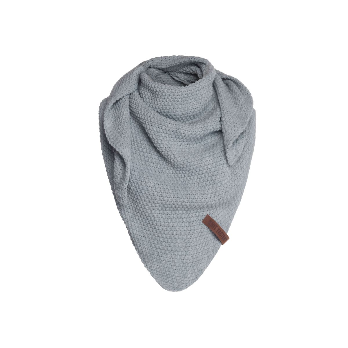 knit factory 1205911 coco omslagdoek junior grijs 1