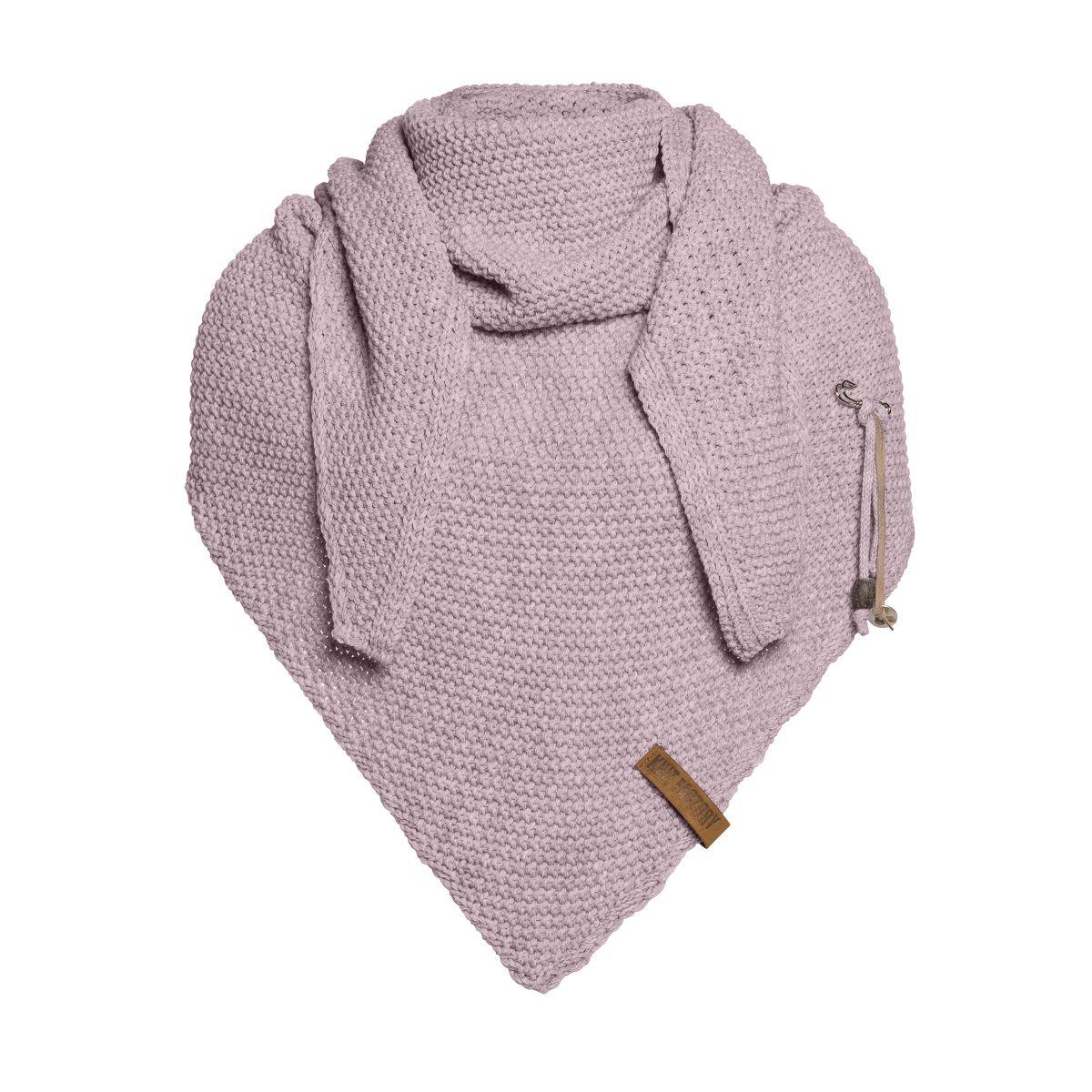 knit factory 1206034 coco omslagdoek mauve 1