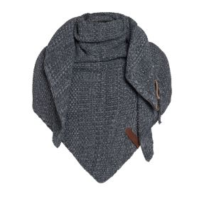 Coco Triangle Scarf Anthracite/Grey