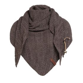 Coco Triangle Scarf Brown/Taupe