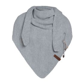 Coco Triangle Scarf Deluxe Light Grey