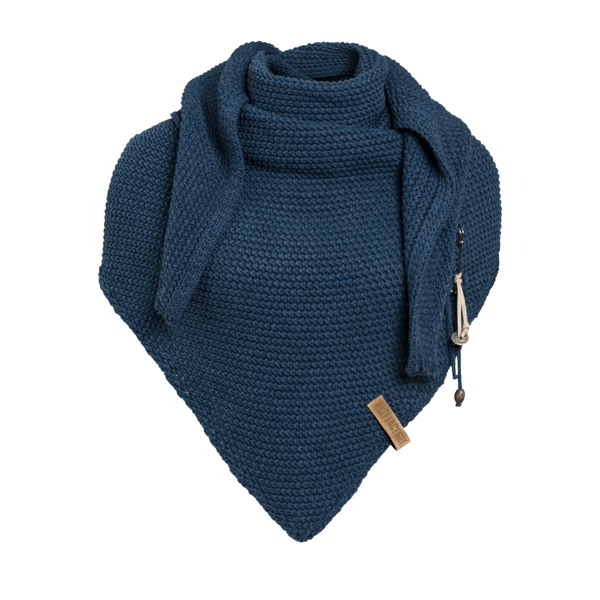 coco triangle scarf jeans