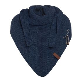 Coco Triangle Scarf Jeans/Navy