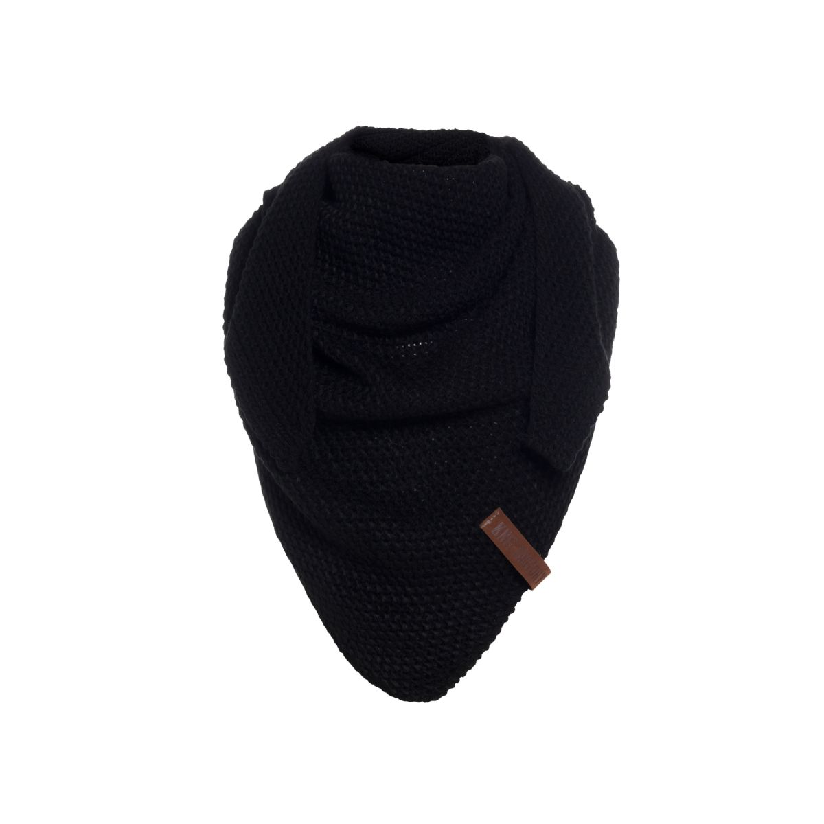 coco triangle scarf junior black
