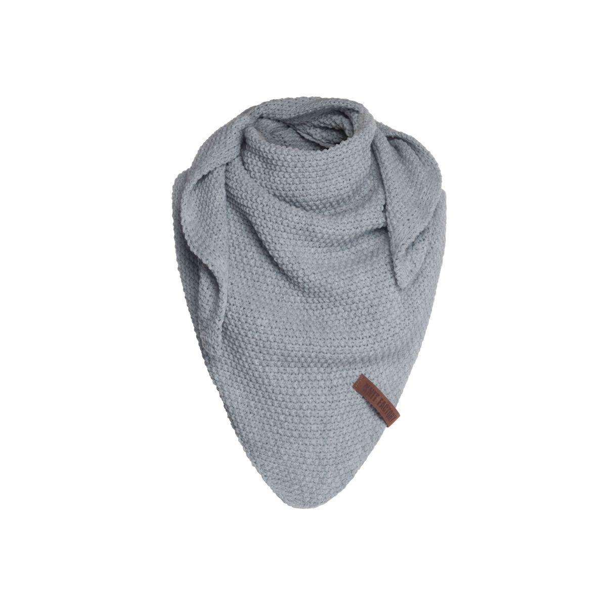 coco triangle scarf junior light grey