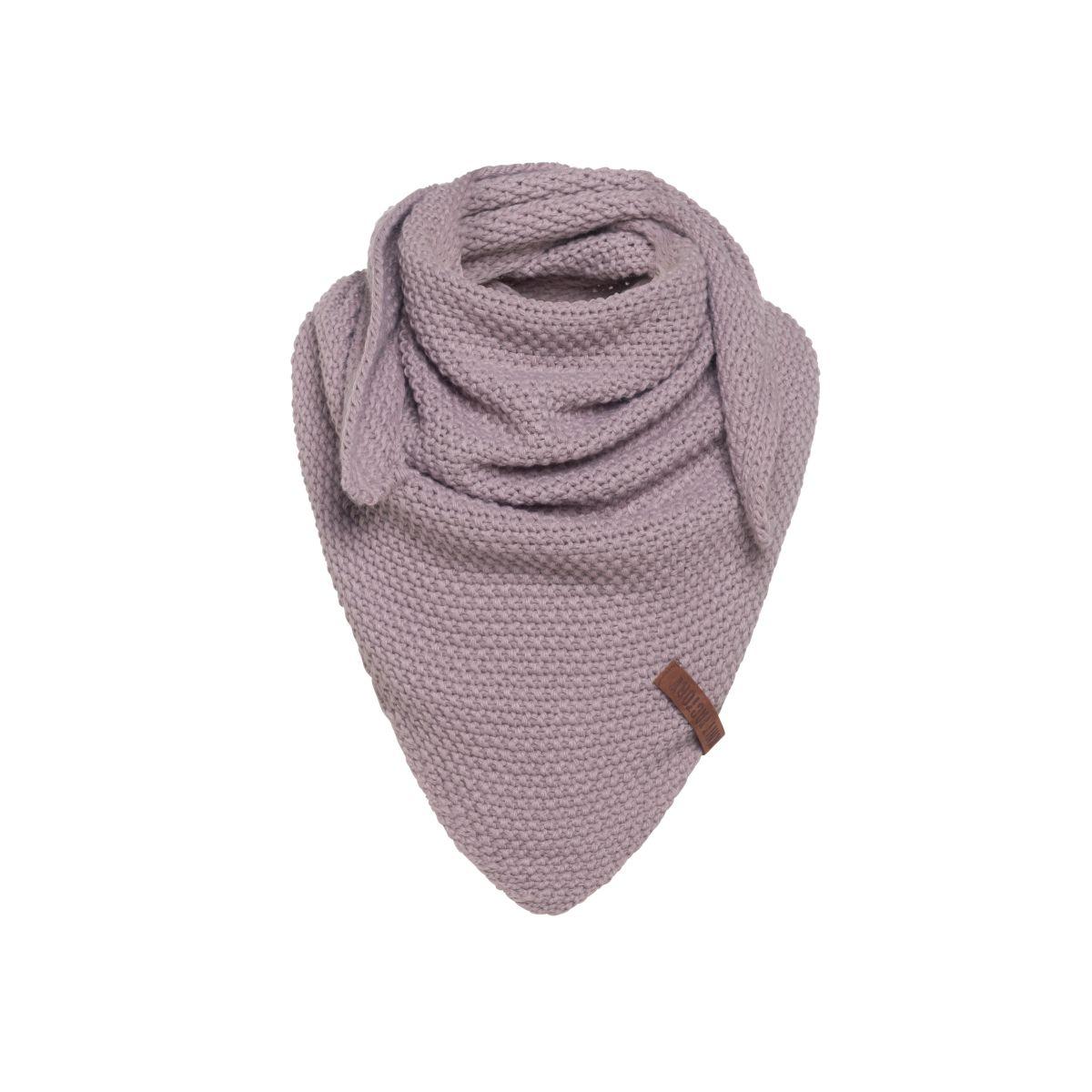 coco triangle scarf junior mauve